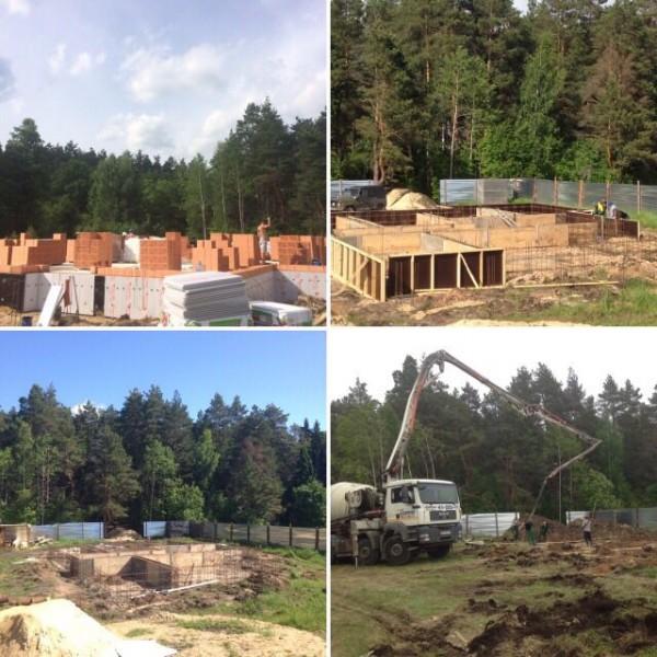 Начало строительства дома с нуля