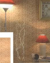 Стена из ПВХ панелей Коричневая мозаика